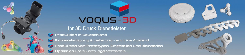VOQUS 3D Banner